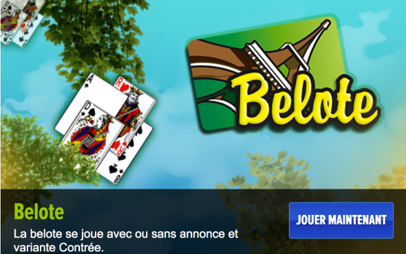 Jeu de belote Gametwist